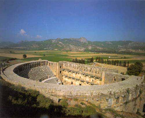 aspendos theatre tour Turkey tour