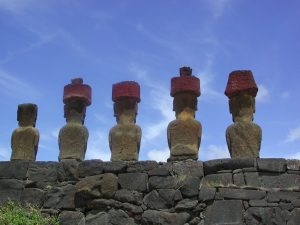 Anakena Easter Island Far Horizons tour