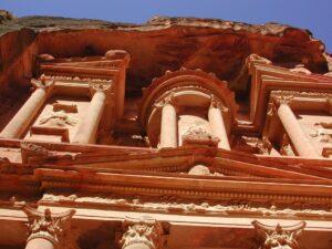 Petra Jordan treasury Far Horizons tour