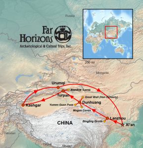 China Silk Road tour China tour archaeology tour Silk Route through China