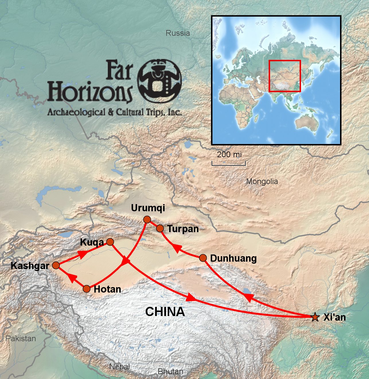 China's Silk Road Tour