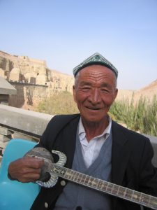 Uyghur musician China Silk Road tour