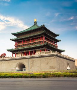 Xi'an tour Bell tower tour China Tour Silk Road tour
