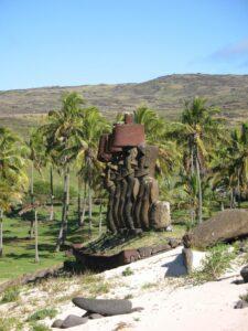 anakena statues Easter Island tour
