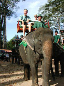 Angkor-Wat-Laos-Ancient-Khmer-Empire-Tour-Elephant