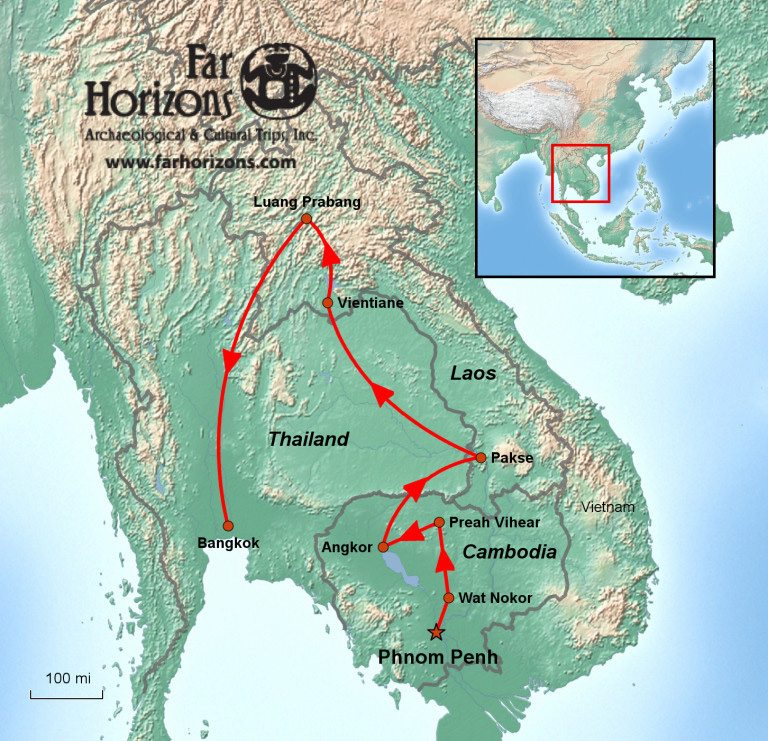 Angkor Wat & Laos Tour: Discover the Ancient Khmer Empire
