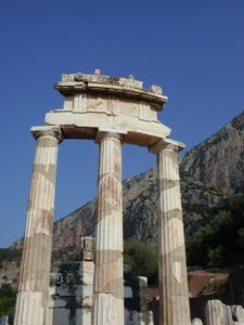 Athena Temple - Delphi, Greece
