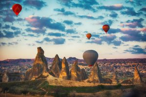 hot air balloons cappadocia, turkey. tour archaeology tour classical archaeology