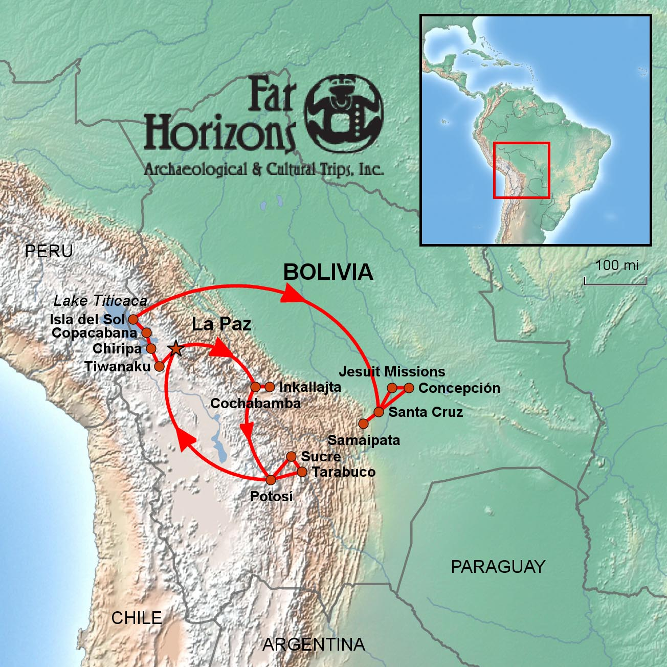 Archaeology and Culture of Bolivia Tour
