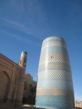 Central-Asia-Tour-Turkmenistan-Uzbekistan-Tajikistan-Merv-Khiva-minaret