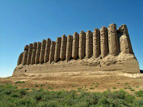 Central-Asia-Tour-Turkmenistan-Uzbekistan-Tajikistan-Merv-city-walls