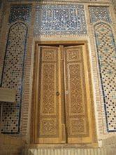 Central-Asia-Tour-Turkmenistan-Uzbekistan-Tajikistan-Merv-doorway