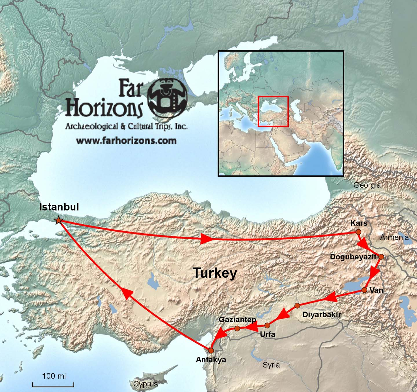 Eastern Turkey Tour Of The Lost Kingdoms