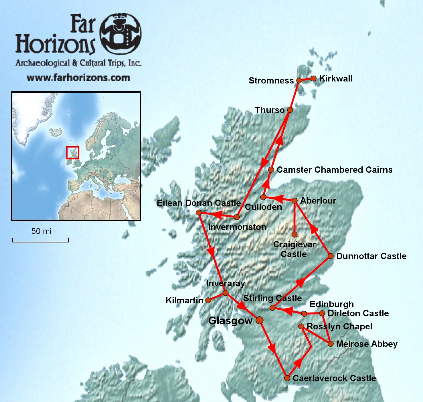 Scotland Tour: Riches of the Scottish Highlands & Lowlands