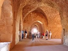 Grandeurs-Petra-Splendors-Jordan-Tour-Ajlun-Castle-interior