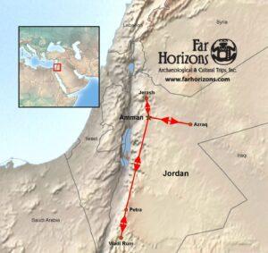 Grandeurs-Petra-Splendors-Jordan-Tour-Map
