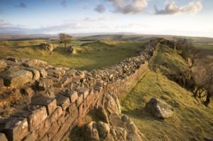 Hadrians wall on Far Horizons' tour