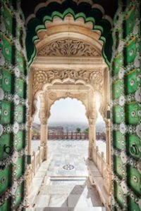 India-Tour-Gujarat-Rajasthan-Jodphur-Jaswant-Doorway