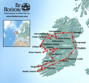 Ireland-Tour-Skellig-Michael-Aran-Islands-Burrens-Megalithic-Tombs-Dublin-Map