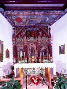 Laguna church retablo, wouthwest tour American Indians, Native Americans