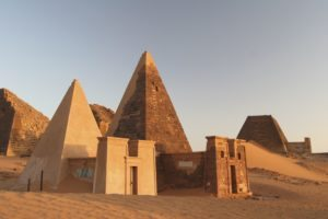 Meroe pyramids Sudan tour Bob Brier tour archaeology tour