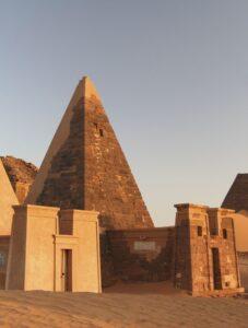 meroe-pyramids Sudan tour