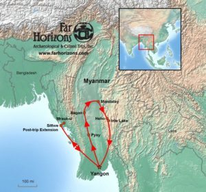 Myanmar-Tour-Burma-Temples-on-Inle-Lake-Map