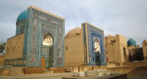 Samarkand-street-of-tombs