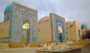 Samarkand street of tombs tours