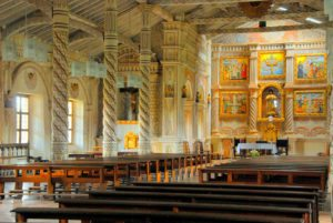 san-javier-mission church Bolivia tour