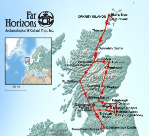 Scotland Tour archaeology tour history tour Orkney Islands