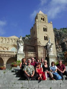 Far Horizons Sicily tour at Cefalu