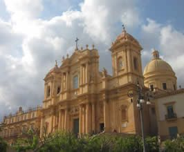 Noto Cathedrale Facade Far Horizons Sicily Tour
