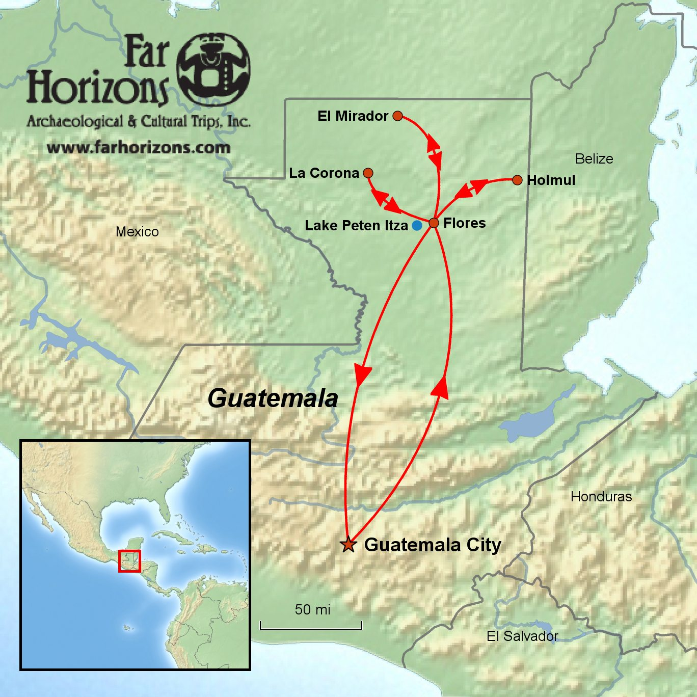 Guatemala Tour: In the Path of the Snake Kingdom
