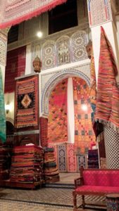 Spain-Morocco-Tour-rug-shop