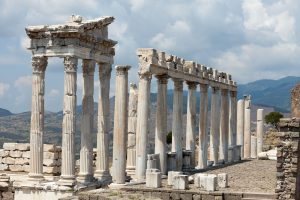 temple of trajan pergamon tour Turkey tour western turkey tour archaeology tour classical archaeology tour