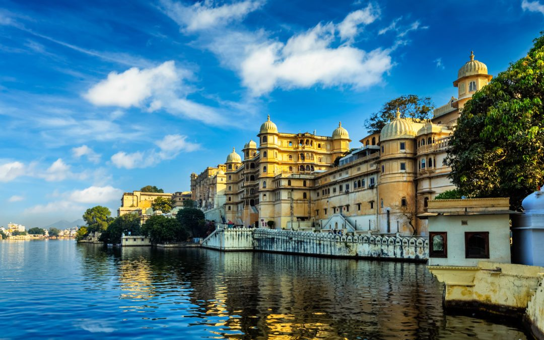 City Palace. Udaipur India tour