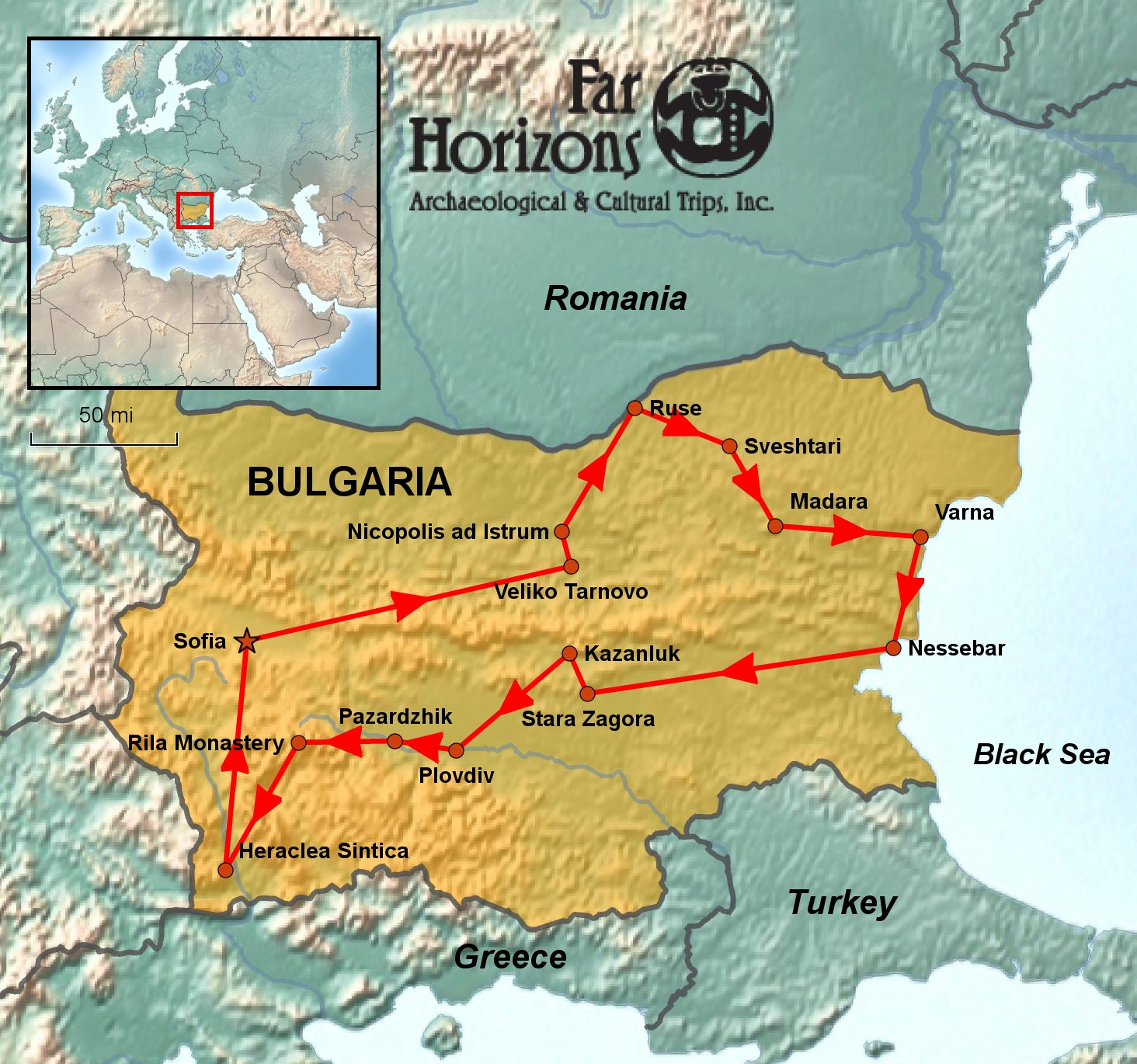 Bulgaria Tour - Land of History