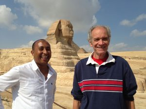 Bob Brier Sudan tour Egyptologist