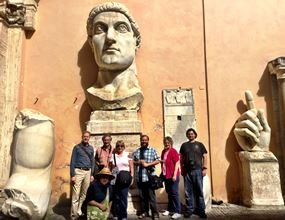 Group at Capitoline Museum - small