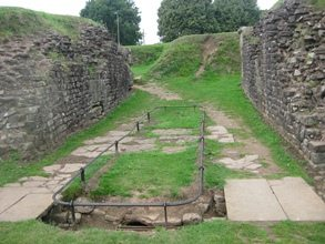 Amphitheater at Caerleon - small