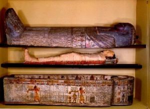 Egyptian coffins - small