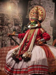 Kathakali dancer South India Tour