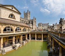 Roman Baths in Bath - small
