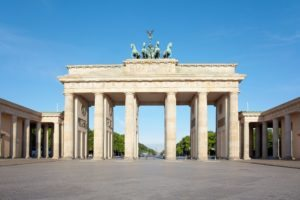 Brandenburg gate Berlin tour