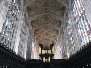 Kings College Chapel Cambridge tour