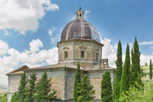 Church of Santa Maria Nuova Cortona Italy tour Etruscan tour