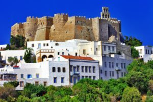 Chora Patmos Greece tour Greek tour yacht tour