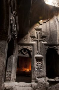Geghard monastery Armenia tour
