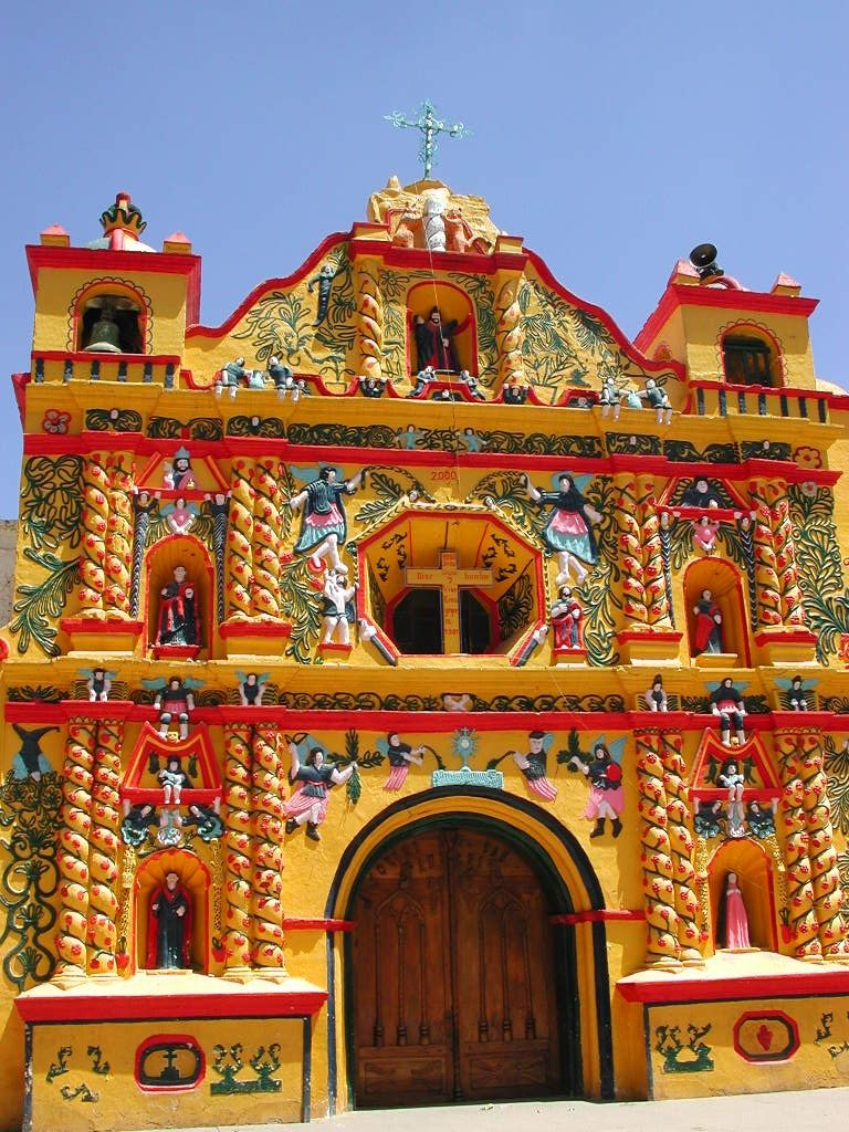 san-andres-xecul church Guatemala tour